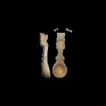 Ложка из сибирского кедра с Медвежонком (в ассортименте)