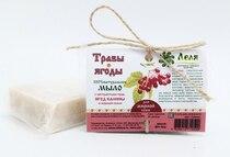 ТРАВЫ-ЯГОДЫ. Травяное натуральное мыло для жирной кожи 80 гр.